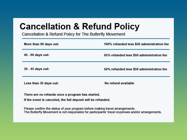 Cancellation  Refund Policies